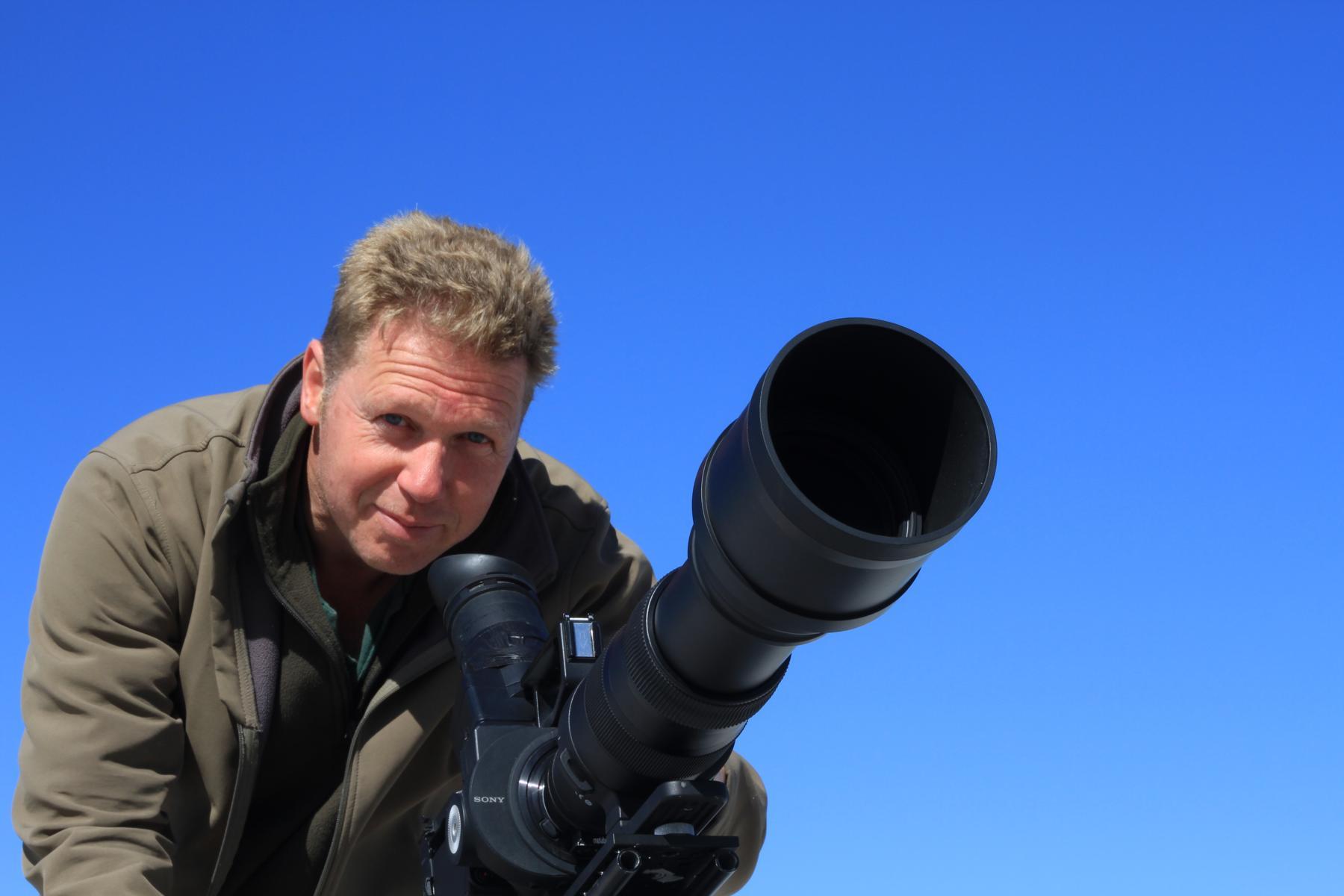 Naturfilmer Jens Klingebiel