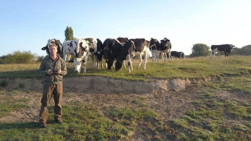Tierfilmer Jens Klingebiel - Drohnenaufnahmen vor Zuschauern